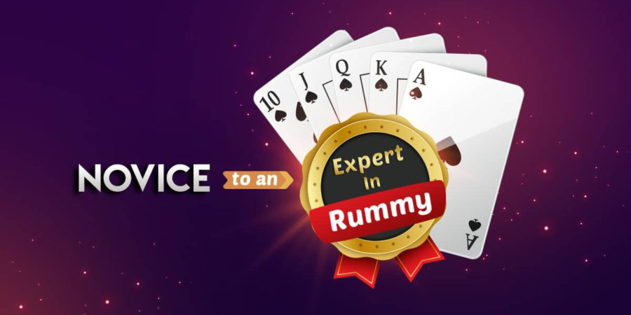 The Easy Journey from a Novice to an Expert in Rummy
